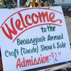 Beausejour Craft Show